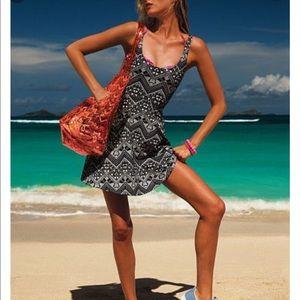 Victoria's Secret PINK Aztec Tribal Skater Dress